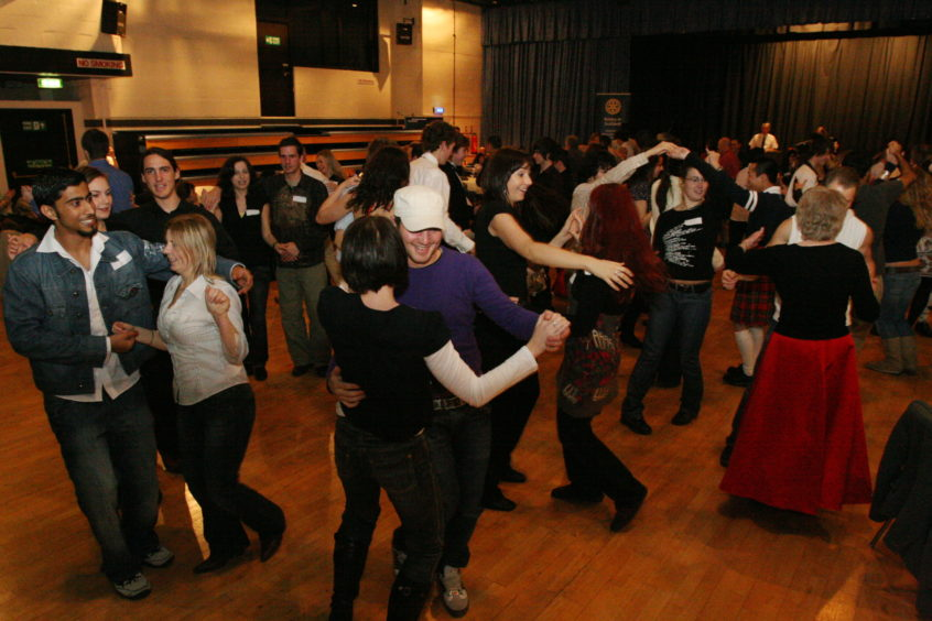 The Rotary Club of Dundee held its annual International Student Night. Students enjoyed the nights Ceilidh.