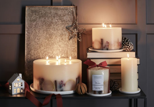 Interiors Furniture Your Home With Fragrant Candles This Winter