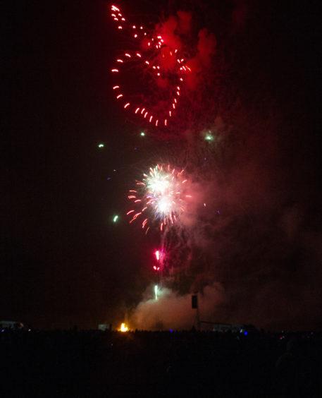 Lochee Park fireworks.