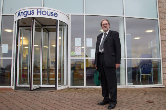 Mr Moore received the three-month sanction following the hearing at Angus House