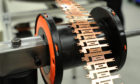 A component being produced by Interplex PMP's Arbroath premises.