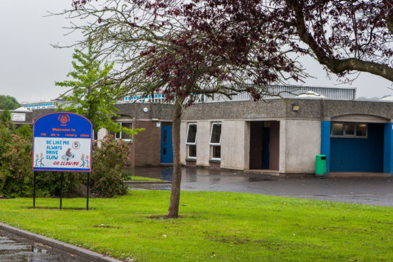 North Muirton Primary School.