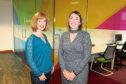 Insights chief executive Fiona Logan and sales manager Jillian Lorimer