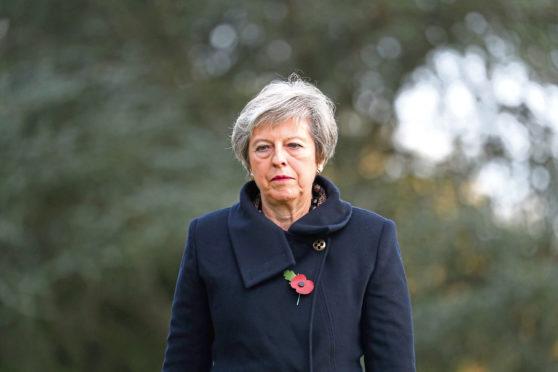Prime Minister Theresa May.