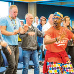 VIDEO: TV's Mr Motivator visits Perth…and gives us some top-tips for desk-based exercises
