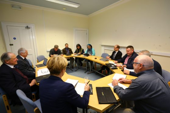 The specially-convened talks took place in Forfar