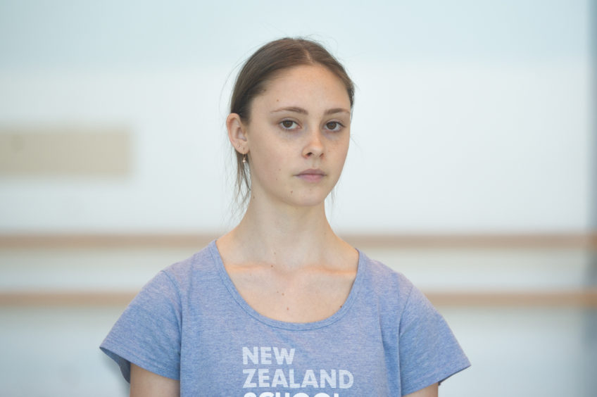 """Imogen - """"This project has brought up a lot of emotion for myself, I feel like talking about these issues is so important. Being able to dance and help someone is an amazing feeling."""""""