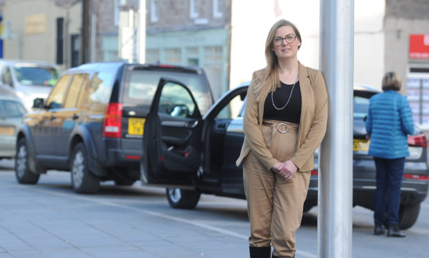 Shopkeeper Dawn Fuge, who is co-chair of the Perth Traders Association, who has welcomed plans for another round of Free Festive Parking.