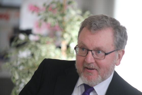 Scottish secretary David Mundell.