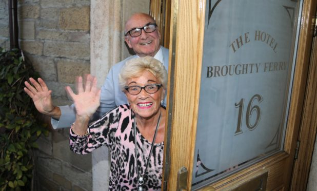 Geraldine and Jeff Stewart are retiring and selling the Broughty Ferry Hotel.