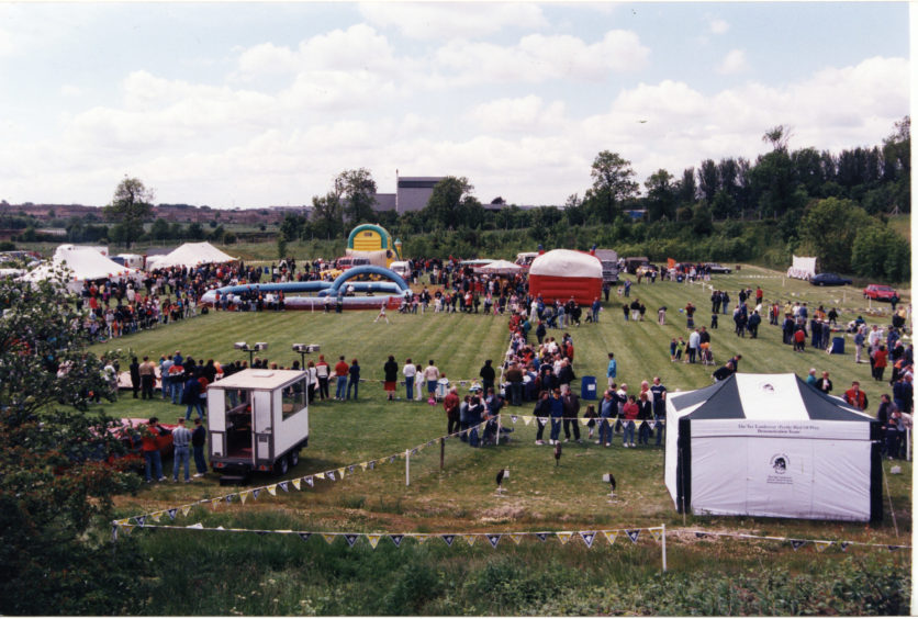 The Michelin Fun Day, Dundee, on 14/06/1998.