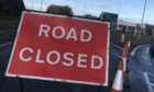The A9 southbound between Inveralmond and Broxden was closed for several hours following Sunday morning's accident.