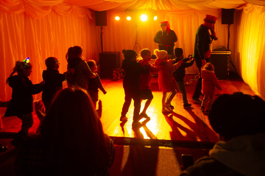 The children's disco.