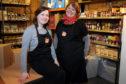 Jillian McEwan and Kathryn Baker of Myreside Farm.