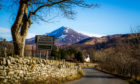 Library image of Schiehallion at Kinloch Rannoch