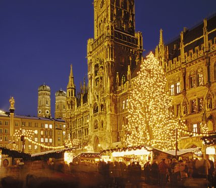 Munich Christmas Market.Munich Christmas Markets Show The True Magic Of Christmas