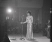 Dame Shirley on stage in 1972 - the year before her return to Dundee sparked a manic ticket scramble.