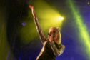Pixie Lott performs on the main stage during the City of Perth Winter Festival.