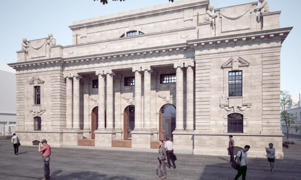 Artist impressions of Perth City Hall