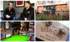 Ryan Paterson's Dundee FC man cave.