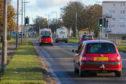 Thomas Beall was struck by a car on busy Dunnikier Way near Asda