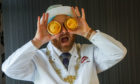 "Scottish Bakers president Ronnie Miles has an ""Eye for a Pie"""