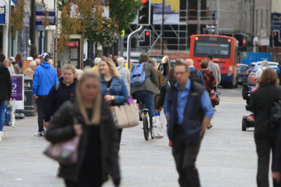 There are aims to make Perth more suitable for walking and cycling.