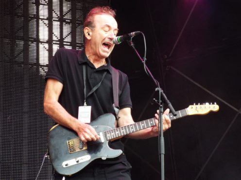 Ex-Stranglers frontman Hugh Cornwall.