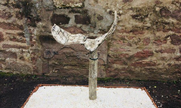 Karen Elliot's horse saddle sculpture was targeted by vandals.