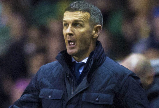 Dundee boss Jim McIntyre.