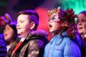 Eastern Primary School sing Christmas carols.