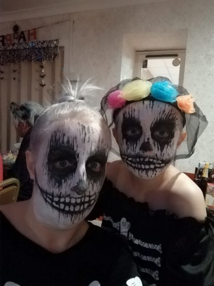 No names were given with this submission, but we thought the face-painting was great!