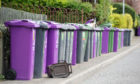 Angus Council bins.