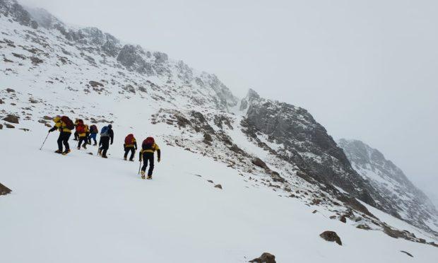 Cairngorm Mountain Rescue Team.