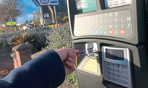 Angus parking meter