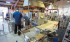 The Caithness Glass production facility at Crieff