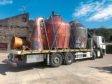 Glencadam Distillery takes delivery of a new still