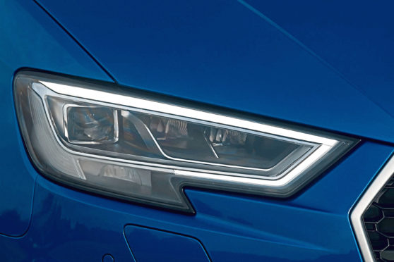 Undated file photo to illustrate car daytime running lights. See PA Feature MOTORING News. Picture credit should read: PA. WARNING: This picture must only be used to accompany PA Feature MOTORING News.