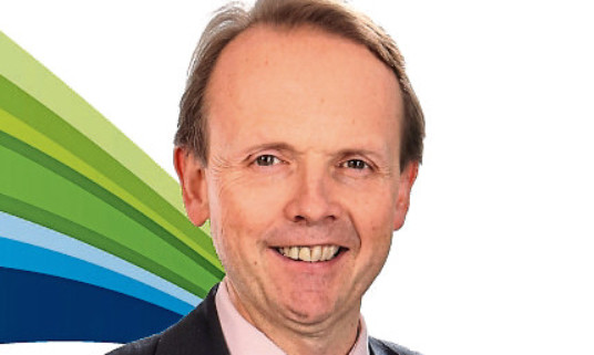 SSE chief executive Alistait Phillips-Davies