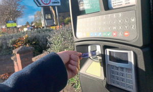 Parking machines in Angus