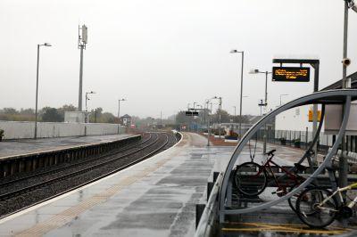 Montrose railway station.