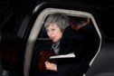 Prime Minister Theresa May returns to Downing Street after the Confidence Vote