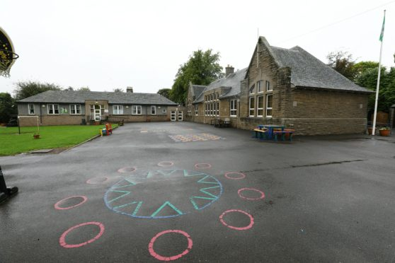 Longforgan Primary School.