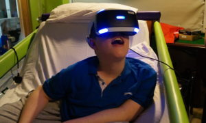 de3db0189a28 New virtual reality tech helps Rachel House kids travel the world…and beyond