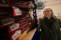 Eleanor Kellener, Perth food bank project coordinator has been overwhelmed by donations.