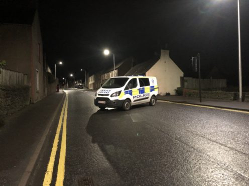 Dundee Loan sealed off at its junction with West Port