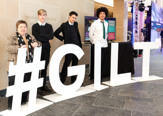 Edinburgh schoolchildren got the chance to consider a future in Fintech at a recent workshop day at Royal Bank of Scotland's Gogarburn offices