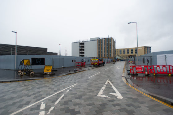 The new hotel will adjoin the office block already under construction on Site Six.