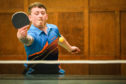 Action from the Scottish Ping Pong Championships held in Dundee on Saturday.
