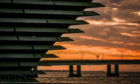 V&A Dundee at first light.